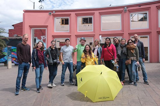 Bogota La Candelaria Shared Walking...