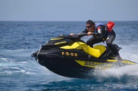 Jet Ski Safari from Puerto de las Galletas in Tenerife