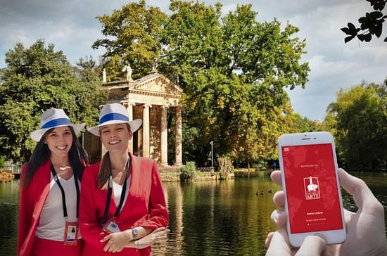 Villa Borghese Garden Game tour - Art