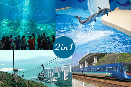 E-Ticket Combo: Hong Kong Ocean Park...