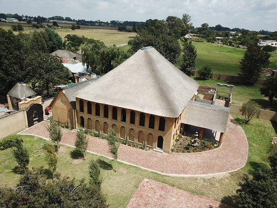Benoni, Afrika Selatan: Aerial view of the Colosseum banquet hall