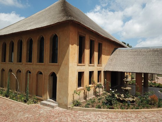 Benoni, South Africa: Side view of the Colosseum banquet hall