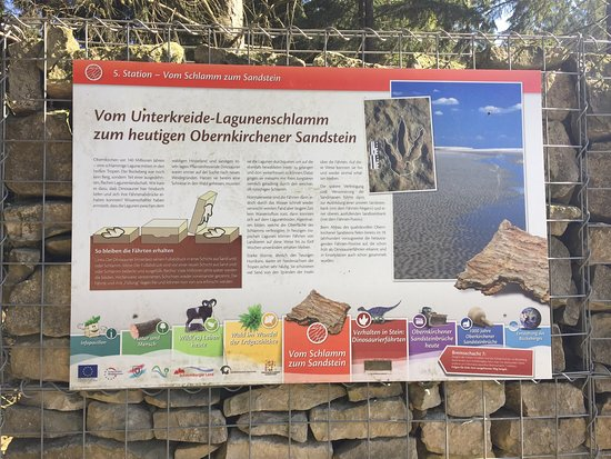 Obernkirchen, Niemcy: Weg und Fährten