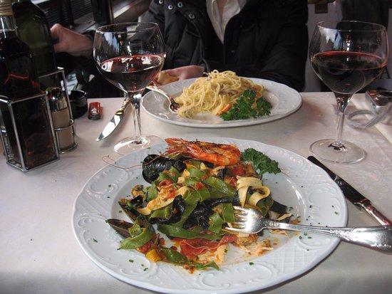 Ristorante Terrazza Sommariva: спагетти маринари