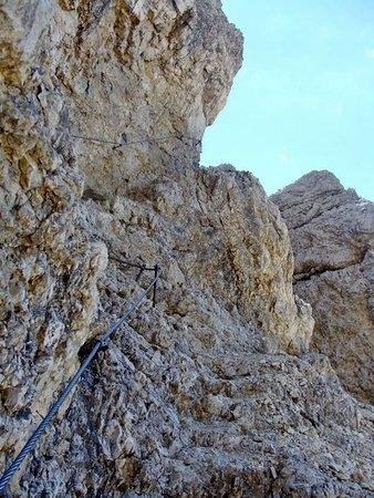 Cortina D'Ampezzo, Italien: Tratto attrezzato