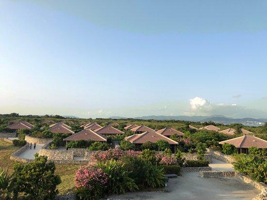 HOSHINOYA Taketomi Island: View from the observation pavilion