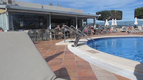 Hotel Son Matias Beach: Outside Terrace