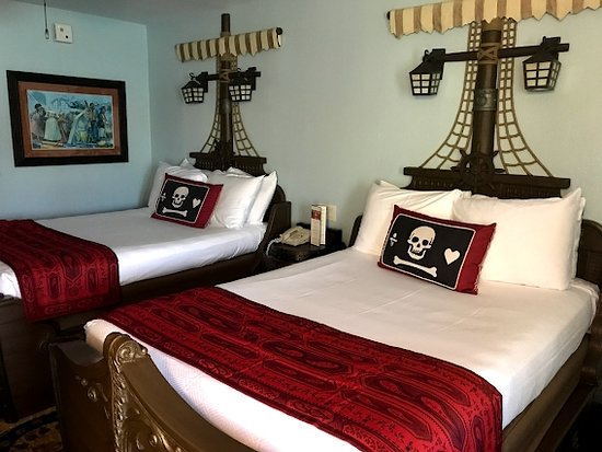 Pirate Rooms Picture Of Disney S Caribbean Beach Resort