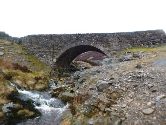 Waunfawr, UK: Bridge in the middle of nowhere