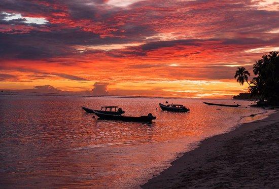 Mentawai Islands, Endonezya: sunset