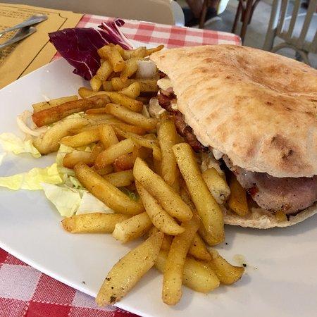 Osteria Lo Bianco - Via Belgio: 😋 😋😋 Big Hamburger 🍔 🍔