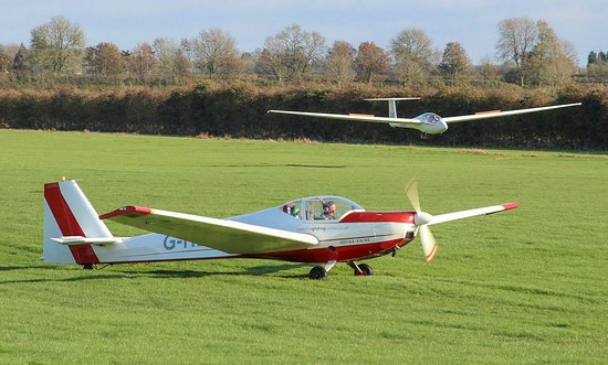 Lutterworth, UK: Chipmunk and Glider