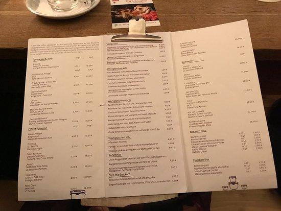 Lila Sosse : menu