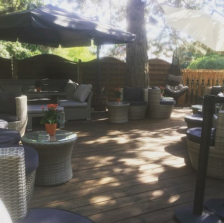 Groebenzell, Allemagne : Loungebereich