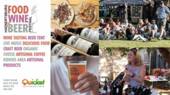 Haenertsburg Food Wine & Beer Festival 28/29 April 2018