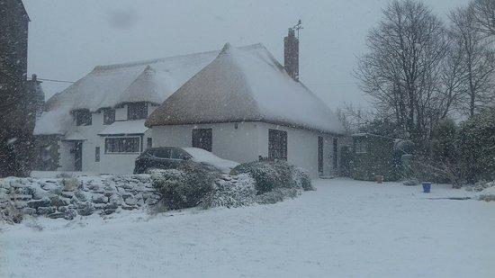 Ruan Minor, UK: Snow 2018