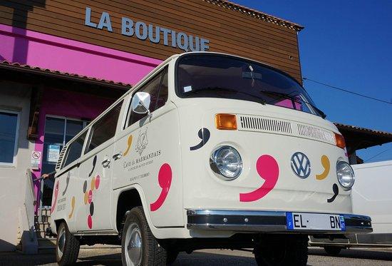 Marmande, France: visite en combi vw
