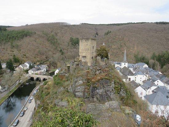 Esch-sur-Sure, Luxembourg : Vue