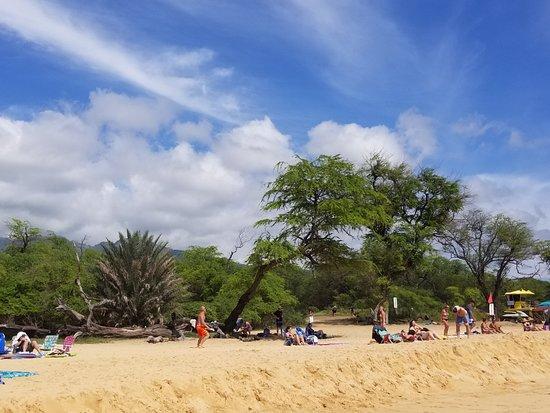 Makena, هاواي: Makena Beach on a Saturday