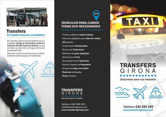 Жирона, Испания: Soluciones para sus traslados, no deje nada a la suerte