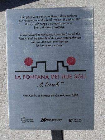 Ancona, Italy: Insegna turistica