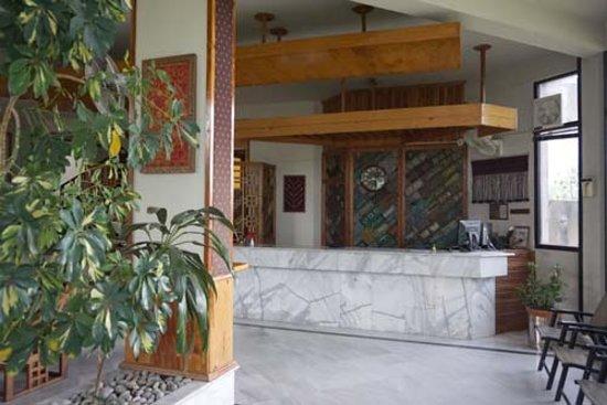 Saidu, باكستان: Front Lobby area