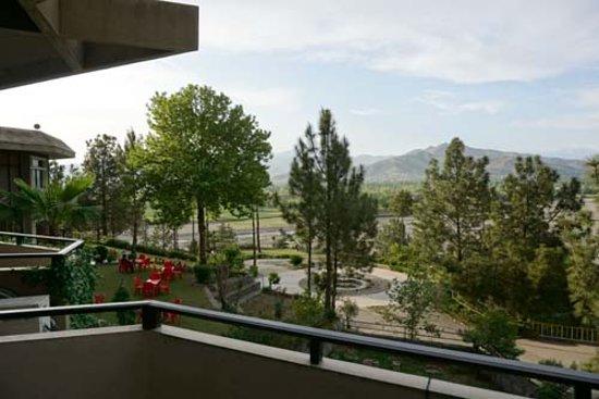 Saidu, باكستان: View from Hotel balcony