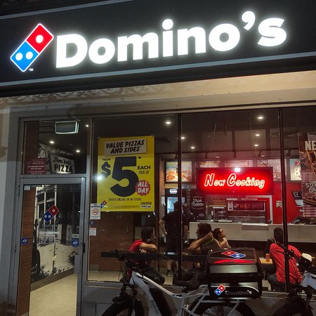 Burwood, Australien: Domino's Pizza