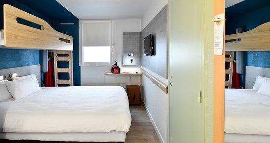 Chambre double lit 160*200 + lit superposé enfant 12 ans - Photo de ...