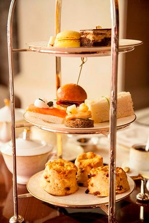 High tea at your service