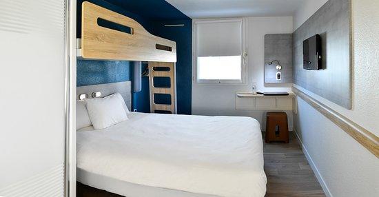 Chambre double lit 160*200 + lit superposé enfant 12 ans - Picture ...