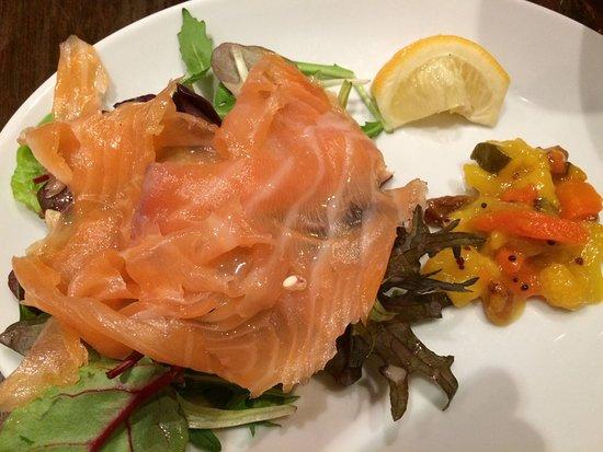 Cuan Mor: Smoked salmon!