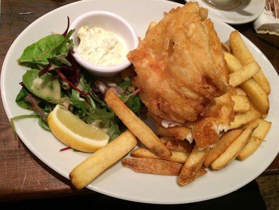 Cuan Mor: Haddock fish and chips!
