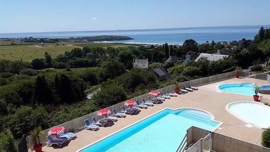 Telgruc-sur-Mer, Francja: Piscine chauffée 27 °