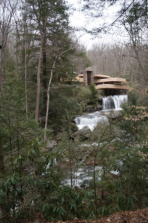 Fallingwater: house on the waterfall