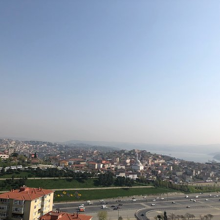Le Méridien Istanbul Etiler : Very nice view ...