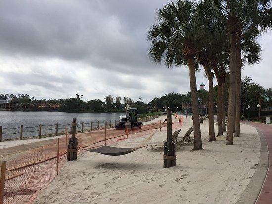 Construction Aruba Beach Disney S Caribbean Resort Outside Block 55