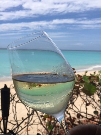 Turners Beach, Antigua: Lazy lunches, great wines