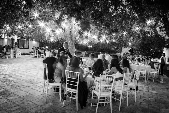 Mottola, Italy: a cena sotto la GrandeQuercia