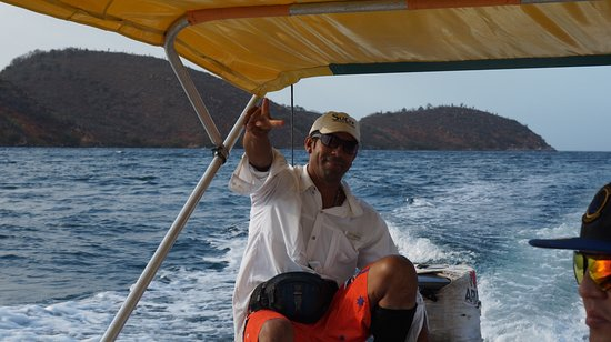 Mochima, เวเนซุเอลา: Tour guide