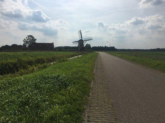 Slochteren, The Netherlands: 2 / 3 windmill
