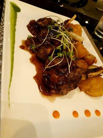 Krave: Lamb Chops w/ Deep Fried Cauliflower OMG!!!