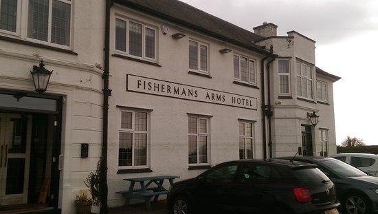 Fishermans Arms: Von außen eher unscheinbar