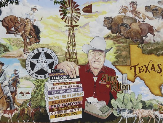 Historical Murals of San Angelo: Notable local author