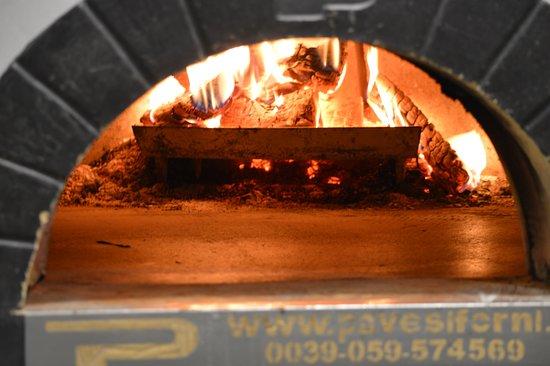 Bandon, Ireland: wood fired oven