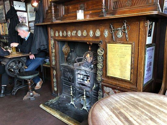 Coal Burning Fireplace Picture Of The Nags Head London Tripadvisor