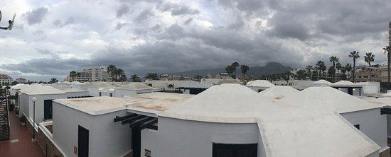Los Cardones: Vista dalla palazzina della nostra camera, l'unica a due piani