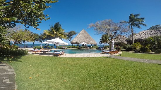 Turtle Inn: The beautiful main pool!