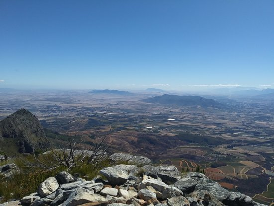 Tokara Wine Estate: The view from the top