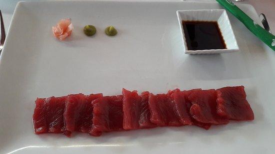 Pradillo: Sashimi de atún